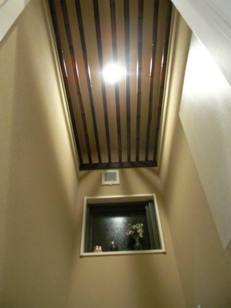 美容室を併用する住宅 内装