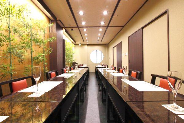 群馬県庁31階「日本料理 くろ松」様~座敷(個室)工事